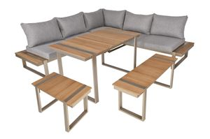 Lounge-Eckgruppe AUREA, 6-tlg