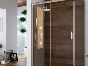 Duschpaneel Duschsäule SOLAL - Bambus