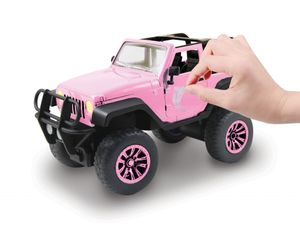 RC Pink Driverz Jeep Wrangler 1:16