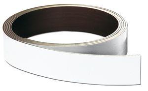 FRANKEN Magnetband, (L)10.000 x (T)0,8 x (H)30 mm, weiß, Menge: 1 (Neu)