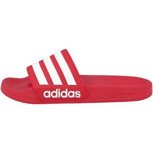 adidas Adilette Shower Slipper Herren scarlet/footwear white/scarlet Schuhgröße UK 6 | EU 39 1/3
