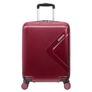American Tourister Modern Dream mit 4-Rollen-Trolley, 55 x 40 x 20 cm (H/B/T), rot, Uni, 35 Liter