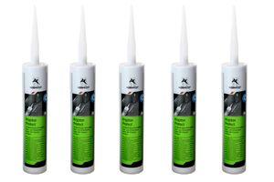 5x Normfest Krypton Protect Dichtmasse UV-beständig Karosserie Kleb- und Dichtmasse schwarz
