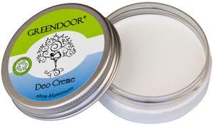 Wirksame Deo Creme, Deodorant ohne Aluminium 50ml, vegane Naturkosmetik Cremedeo ohne Alkohol