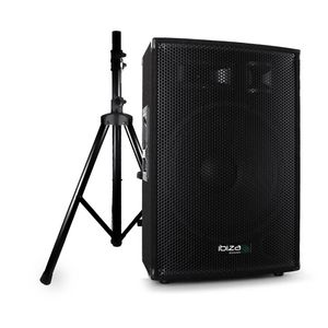 Aktivlautsprecher SONO DJ PA 1000W IBIZA SOUND DISCO-15-Unterstützung-AMP +