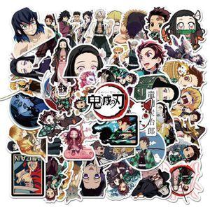 50 Stück / Packung Anime Demon Slayer Kimetsu Keine Yaiba Aufkleber für Aufkleber