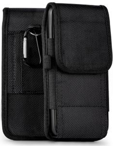 moex® Agility Case kompatibel mit CAT S42 - Handy Gürteltasche, Schwarz