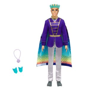 Barbie Ken Dreamtopia 2-in-1 Prinz & Meermann Puppe, Anziehpuppe