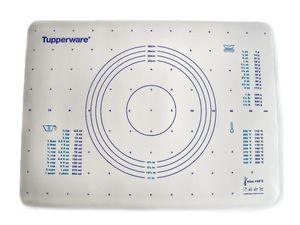TUPPERWARE Backen Teigunterlage blau auch für Knete  Backunterlage Fix&Fertig + SPÜLTUCH