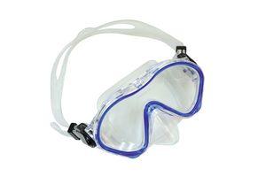 Schildkröt Kinder-Tauchbrille Tahiti, Junior Tauchmaske, Schwimmbrille, hochwertiges Silikon, Sicherheitsglas, verstellbar, für kleine Kinderköpfe