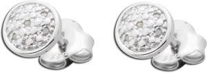 Diamant Ohrringe brillant Ohrstecker Silber Sterlingsilber  Diamanten