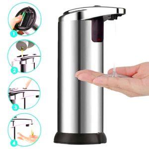 Automatischer Seifenspender mit Sensor Infrarot Berührungslos Freisprech IR Sensor Flüssiges für Bathroom Küchen und Badezimmer