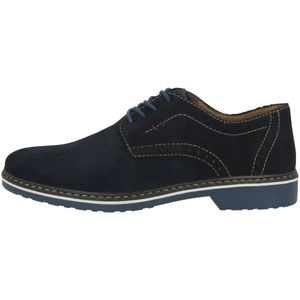 Rieker 16501-14 Schuhe Herren Halbschuhe Schnürschuhe extra Weit, Größe:43 EU, Farbe:Blau