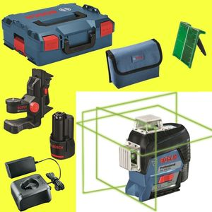 Bosch GLL3-80CG Linienlaser + BM1, L-Boxx