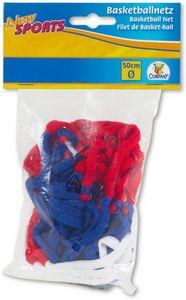 New Sports Basketball-Netz 3-farbig, Durchmesser ca. 50 cm, 1 Stück