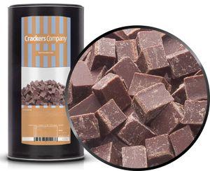 Dark Chocolate Cube - Zartbitter Würfelschokolade - Membrandose groß 800g