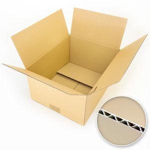 25 Kartons Format DIN A4 Faltkartons 320 x 250 x 120mm
