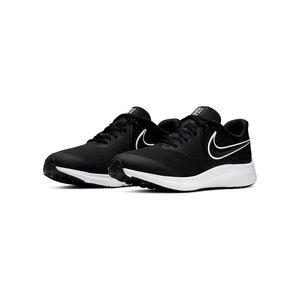 Nike Kinder Sneaker  Textil schwarz 39