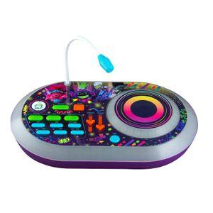 Trolls World Tour Spielzeug Karaoke DJ-Pult mit Mikrofon & Soundeffekten für Kinder