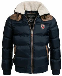 warme Designer Herren Winter Stepp Jacke Winterjacke Gr. L  * TOP QUALITY E01514689139180*
