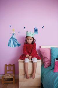 "Komar Deco-Sticker ""Princess Dream"" 50 x 70 cm, blau, 14016h"