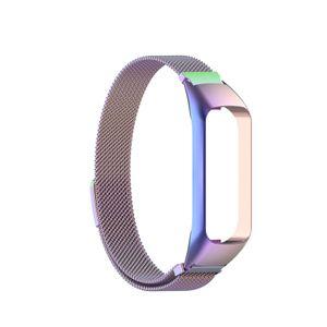 Mehrfarbiges magnetisches Uhrenarmband-Ersatz-Uhrenarmband in Bunt für Samsung Galaxy Fit2 SM-R220 Uhrenreparaturteil