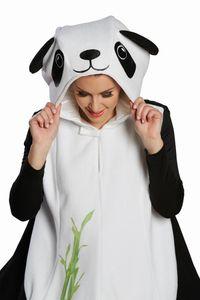 Rubie's strampler Panda Damen schwarz/weiß Einheitsgröße
