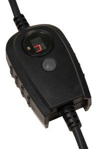 Zwischenstecker McPower mit Dämmerungsschalter, IP44, Zeitschaltuhr (1-9 Std.) - ideal für Gartenbeleuchtung