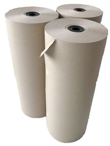 3 Rollen Schrenzpapier Packpapier Knüllmaterial Verpackungspapier 80g 50cm 10 kg 250 lfm