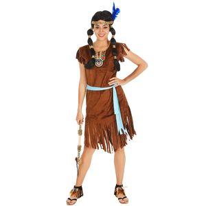 dressforfun Frauenkostüm Indianerin Phoenix - M