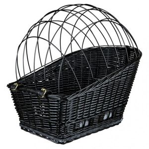 Fahrradkorb mit Gitter TRIXIE 35x49x55cm schwarz