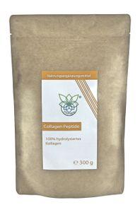 VITARAGNA® Collagen Peptide Protein Pulver, 100% reines Kollagen Hydrolysat, Lift Drink, 300 g hydrolysiertes Kollagen ohne Zusätze
