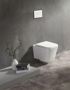 Spülrandloses Wand-WC inkl. Soft-Close Sitz WHR-6181