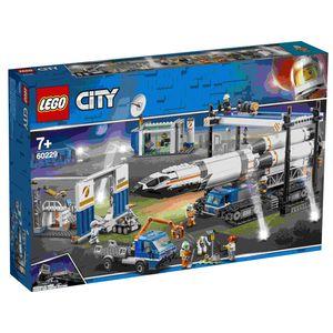 LEGO 60229 City Raketenmontage & Transport, Konstruktionsspielzeug