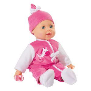 Simba Toys Interactive Puppe Laura ca. 38 cm, spricht einige Wörter aus der Babysprache