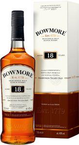 Bowmore 18 Jahre Islay Single Malt Whisky in Geschenkpackung | 43 % vol | 0,7 l