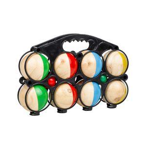 Boule Kugeln Set mit 8 Boule Boulekugeln 2 Zielbällen Wettkämpfe petanque