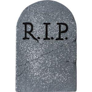 Grabstein 'RIP', 56cm große Halloween Dekoration - Gruseldeko
