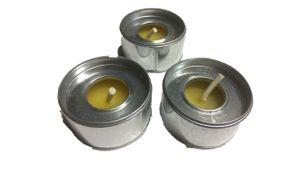 3er Pack Citronella Teelichter Anti Mücken Duftkerze…