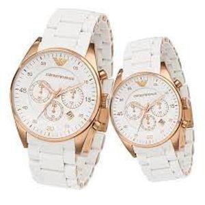Emporio Armani Herren Armband Chronograph Uhr AR5919