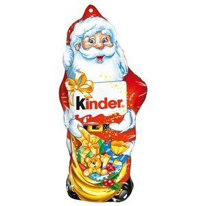 Kinder Weihnachtsmann Hohlfigur aus Schokolade zum Aufhängen 55g