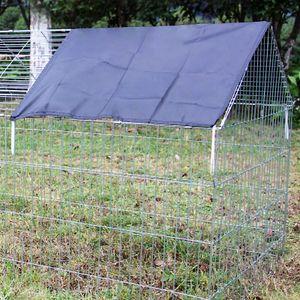 Abdeckung Freigehege Polyester Sonnenschutz Kaninchenkäfig Kaninchenstall