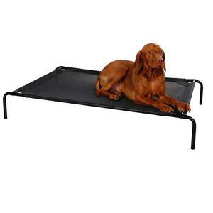 Hundeliege Vacation schwarz, 130 x 80 x 20 cm Hund Liege Tier Ruhezone Relaxen