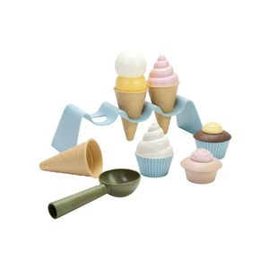 dantoy BIO Kinder-Eiscreme-Set 15teilig, mehrfarbig (1 Set)