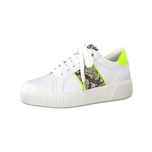 Marco Tozzi Sneaker low  Größe 42, Farbe: WHITE/NEON YEL