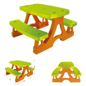 Mochtoys Kinderbank, Kindersitzgruppe 10722 für drinnen und draußen 79x78x49 cm
