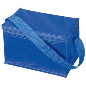 Kühltasche für 6 Dosen à 0,33l / Farbe: blau