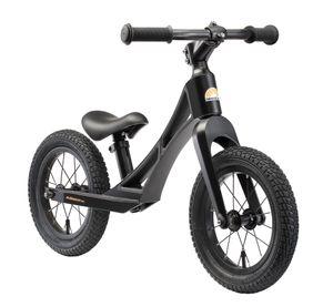BIKESTAR Magnesium Kinder Laufrad ab 3 - 4 Jahre | 12 Zoll BMX Lauflernrad | Schwarz