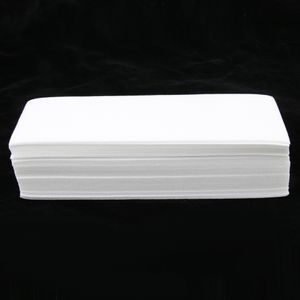 100 Stück Einweg-Wachsstreifen Epilierstreifen Wachsstreifen-Papier Enthaarungsmittel