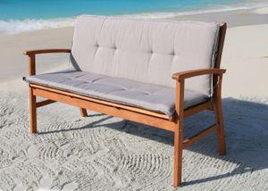 Grasekamp Auflage Sand für Gartenbank 150cm  Rio Grande Bank Gartenmöbel
